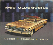 1960 Oldsmobile Data Book Dealer Album 60 Olds 88 98 Showroom Models Features