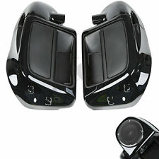 "Lower Vented Leg Fairing + 6.5"" Speakers +Grills For Harley Touring Models 14+"