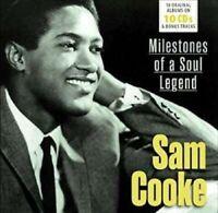SAM COOKE - MILESTONES OF A SOUL LEGEND 10 CD WALLET 10 CD NEW!