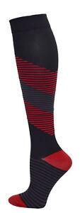 2 PRINTS! Men's Medical Fashion 10-14mmHG Premium Soft Compression Socks
