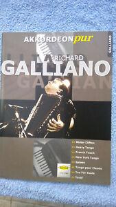 Richard Galliano, Akkordeon Pur; Holzschuh Verlag