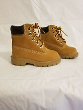 """Timberland 6"""" Waterproof Wheat Brown Boots Toddler Baby Boy's Shoes Size 4C"""