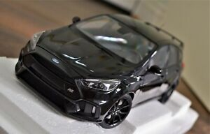 1/18 AUTORT FORD FOCUS RS 2016 IN SHADOW BLACK-NEW-OPENING PARTS