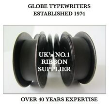2 x COMPATIBLE *BLACK* TYPEWRITER RIBBON FITS *BROTHER DELUXE 850TR* TOP QUALITY