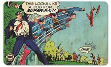 DC Comics - Vintage Frühstücksbrettchen -  Superman - A Job For Superman