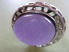 Harry Ivens IV Opulenter Jade Ring, RW16 in 925er Silber Sehr schön UNGETRAGEN
