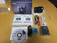 NEW - Canon PowerShot G10 Digital Camera with Battery, Charger and 32G SDHC CARD