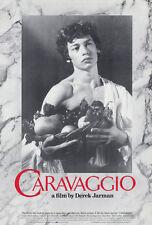 CARAVAGGIO Movie POSTER 27x40 Spencer Leigh Michael Gough Nigel Davenport Robbie