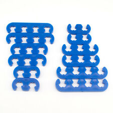 2sets Blue Plastic Spark Plug Wire Separators Dividers Looms For Chevy Ford 9877