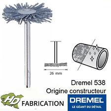 Brosse abrasive haute performance 26 mm dremel 538 - 26150538JA