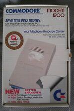 Commodore Vic 20 128 64  modem 1200 baud - original box - fair condition - rare