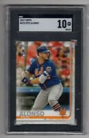 2019 Topps Series 2 Pete Alonso #475 RC SGC 10 GEM MINT New York Mets Rookie
