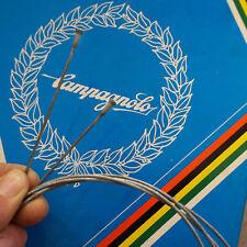 NEW * NOS brake cable x2 Campagnolo era 1950' 60' 70' 80' road bike bici epoca