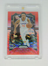 2019-20 Panini Prizm Landry Shamet No.125 Red Wave Clippers NBA