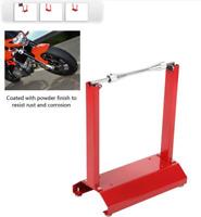 Équilibreuse rayonneuse manuelle statique pour roue de moto cross enduro route