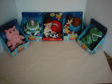 Toy Story Rare Original Jessie Buzz Woody Hamm & Rex Plush Dolls Set of 5 NIP