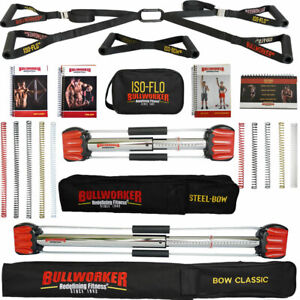 Bullworker Power Pack - Complete Cross Training Fitness - Ultimate Home Gym