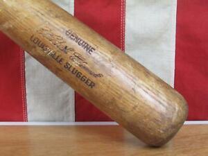 "Vintage Louisville Slugger H&B Wood Baseball Bat HOF Roberto Clemente Model 34"""