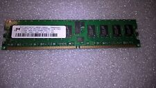 Memoria DDR2 ECC Micron MT18HTF6472Y-40EB2 512MB PC2-3200 400MHz CL3 240 Pin