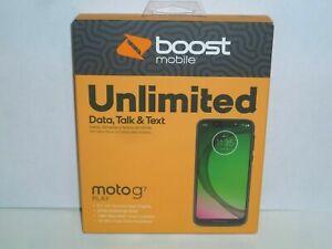 "NEW Boost Mobile Motorola Moto G7 Play 32GB Prepaid Smartphone 5.7"""