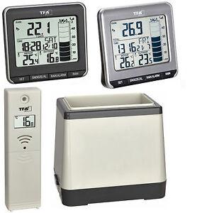 TFA 47.3004 Funkregenmesser Rainman Regenmesser digital Thermometer Garten Alarm