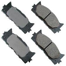 Front Brake Pads for LEXUS SEMI METALLIC ES300H 13-14 ES350 07-14 Premium Brakes