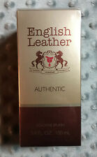 "English Leather ""Authentic"" By Dana 3.4 Oz Men's Cologne Splash - NEW"