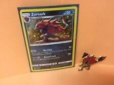 Pokemon ZOROARK HOLO PROMO Card SM89+ ZOROARK OFFICIAL PIN - XY MINT