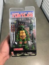 Rare NECA Teenage Mutant Ninja Turtles LEONARDO Figure 2008 NW MINTY TMNT