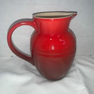 Le Creuset Pitcher Small Red Cherry Stoneware 07L