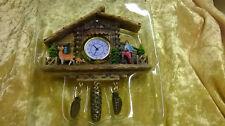 Miniature Cuckoo Clock Magnet Black Forest Watch Gift Souvenir Digital Deer