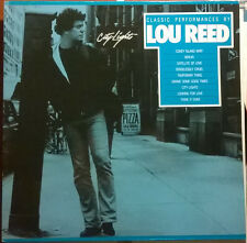 LOU REED City Lights Classic Performances 1986 Vinyl LP  Excellent Condition