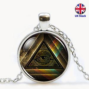 Unisex Masonic Pendant Necklace - Assassin's Creed - Freemason - UK Stock