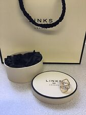 Links of London Infinite Sterling Silver & Gold Vermeil  Ring size N