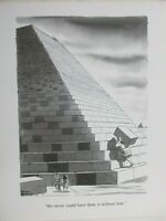 "Chas Addams ""The Giant"" Calendar Print Addams Family/Charles Addams"