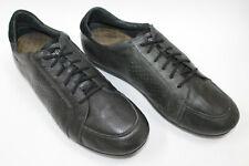 CAMPER men shoes sz 11 Europe 45 black leather S7828
