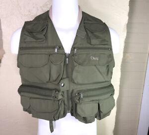 Orvis Lightweight Super Tac-L-Pak Fly Fishing Vest Size Small