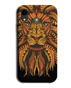Mandala Steampunk Men Lion Head Phone Case Cover Male Pattern Lions Rust M464