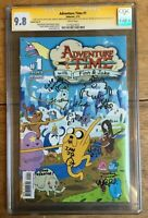 Adventure Time #1 Virgin Variant Signed x7 & Sketch x5  CGC 9.8 1115221012
