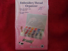 Large Embroidery Thread Organiser Box includes 100 bobbins