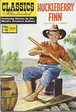 Modern Classics Illustrated Canadian Issue Huckleberry Finn