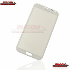 Samsung Galaxy Note 2 n7100 display vetro anteriore Glass Window LCD BIANCO