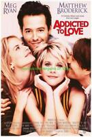 ADDICTED TO LOVE & CITY OF ANGELS MOVIE POSTER MEG RYAN ORIGINAL ONE SHEETS MINT