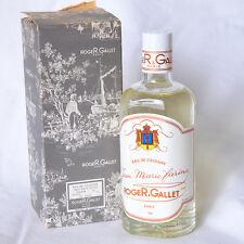 Vintage Roger & Gallet Jean Marie Farina 4 oz eau de cologne double extrait