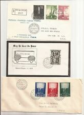 "Vatican-  69 ""nice"" FD covers & cards from 1950s- (1- from 1945)"