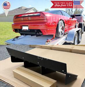 ABS Textured Rear Bumper Center Diffuser Fin Black For Honda Acura 91-05 NSX