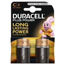 Mezza Torcia C Duracell 2 Batterie Alcaline Plus Power LR14