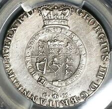 1807 PCGS AU Det 2/3 Thaler George III Hannover Brunswick Silver Coin (20041303C
