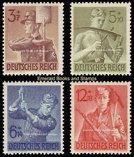 EBS Germany 1943 Reich Labour Service - Arbeitsdienst - Michel 850-853 MNH**