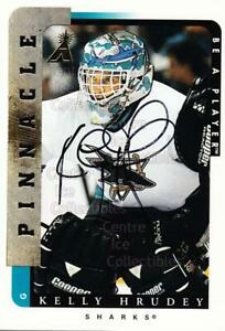 1996-97 Be A Player Auto #45 Kelly Hrudey